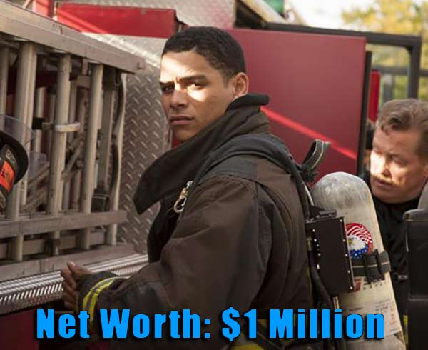Image of Chicago Fire cast, Charlie Bernett net worth is $1 million