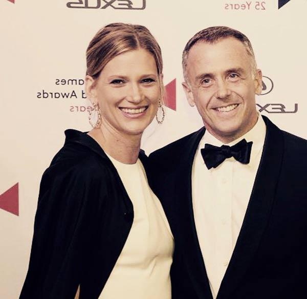 Image of David Eigenberg with his wife Chrysti Eigenberg
