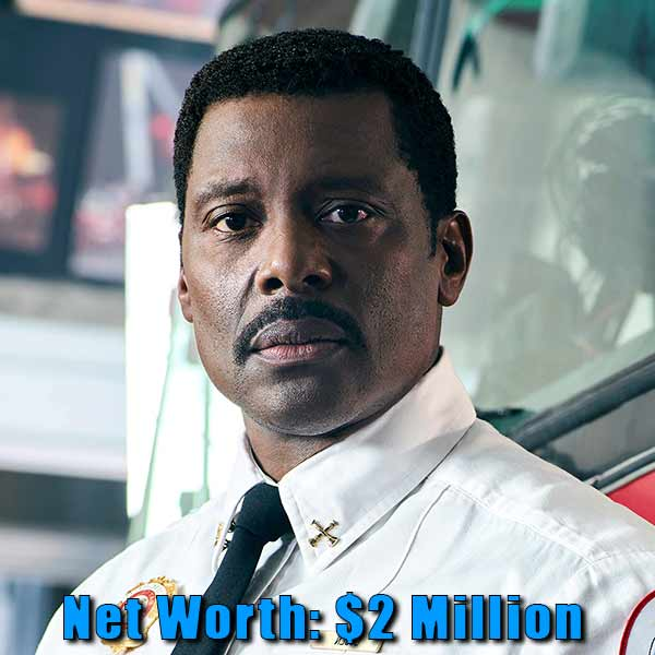 Image of Actor, Eamonn Walker net worth is $2 million