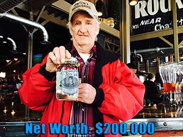 Image of Jim Tom Hedrick from Moonshiners net worth is $200,000