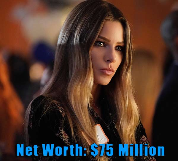 Image of Actor, Lauren German net worth is $75 million