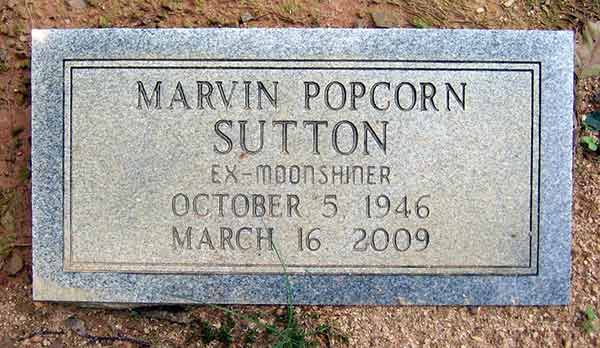 Image of Popcorn Sutton from Moonshiners died on March 16, 2009