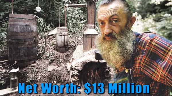 Image of Moonshiners cast Popcorn Sutton net worth is $13 million
