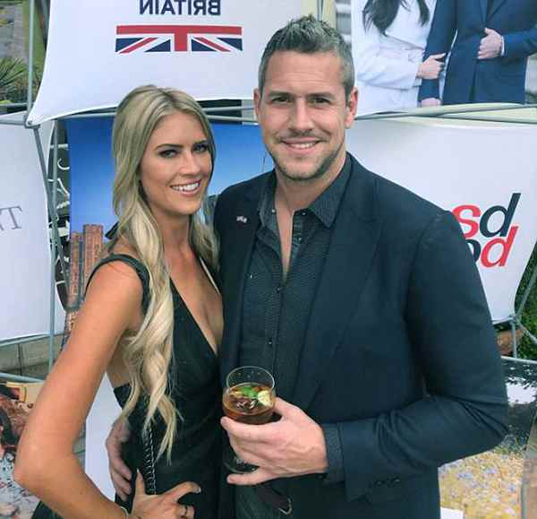 Image of Christina El Moussa with her boyfriend Ant Anstead