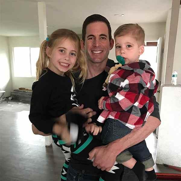 Image of Christina El Moussa husband Tarek El Moussa with their kids
