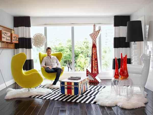 Image of Furniture Designer, David Bromstad house