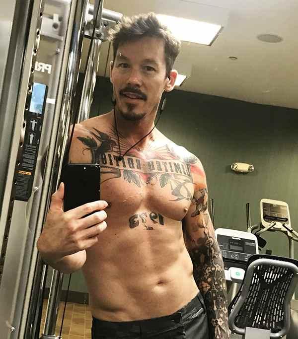 Image of David Bromstad Tattoo
