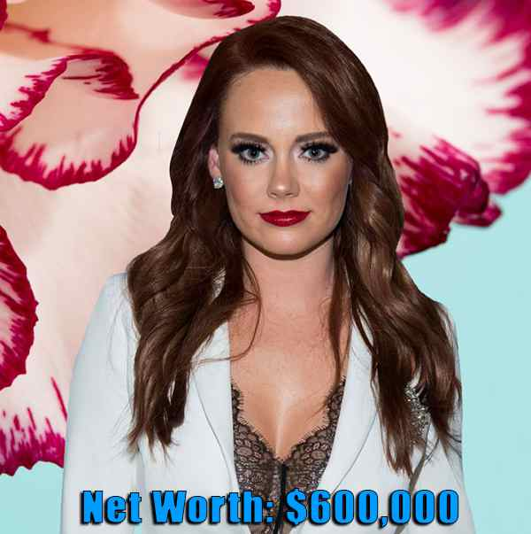 Image of TV Personality, Kathryn Dennis net worth is $600,000