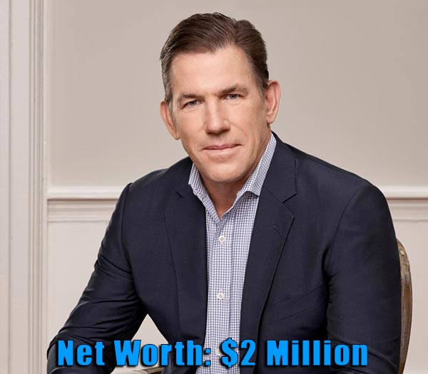 Image of TV Personality, Thomas Ravenel net worth is $2 million