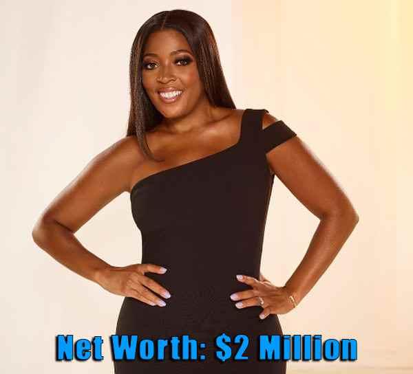 Image of Actor, Toya Bush-Harris net worth is $2 million
