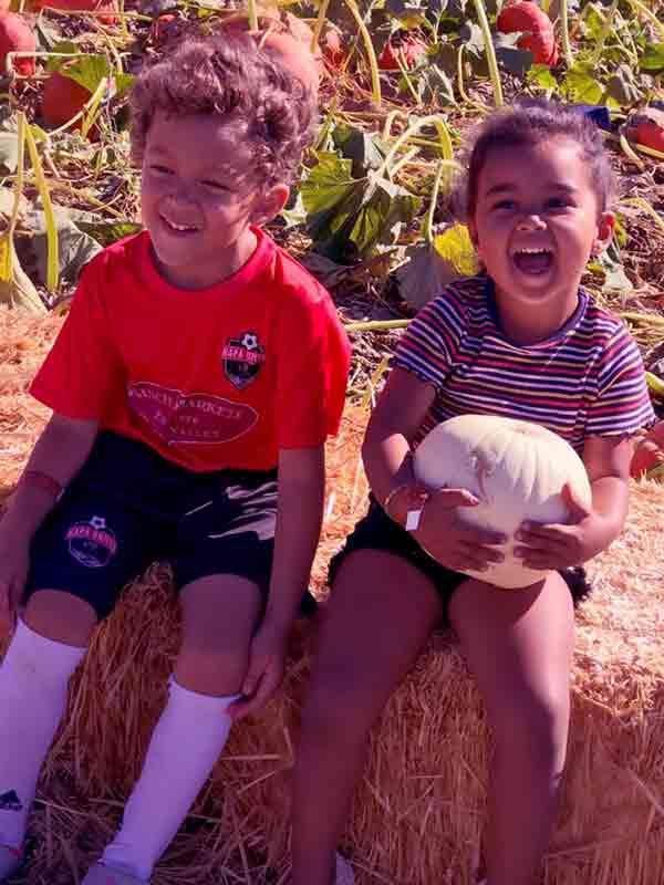 Image of Tamara Mowry kids Aden John Tanner Housley (son) and Ariah Talea Housley (daughter)