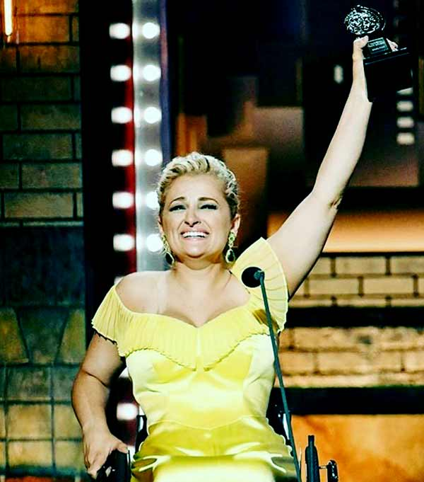 Image of Ali Stroker from TV reality series, The Glee Project