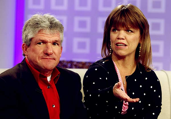 Image of Amy Roloff with her ex-husband Matt Roloff