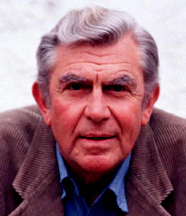 Image of American actor, Andy Griffith