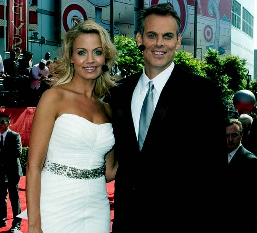 Image of Ann Cowherd with his wife Colin Cowherd