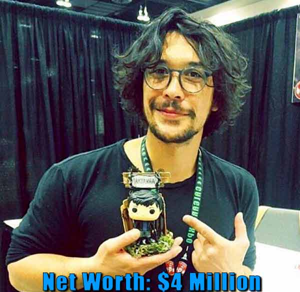 Image of Australian actor, Bob Morley net worth is $4 million
