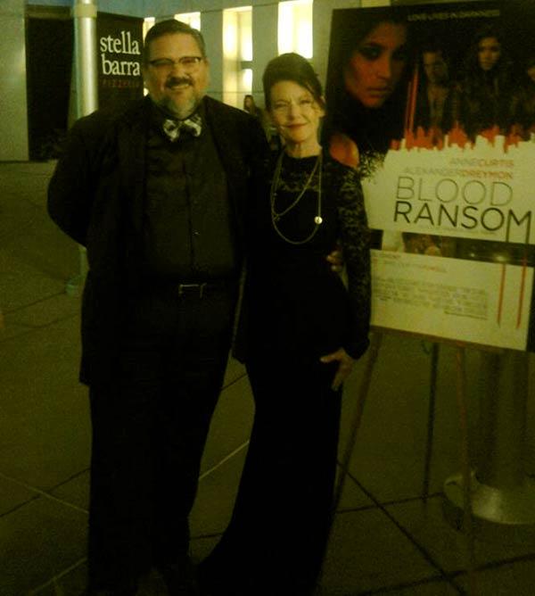 Image of Carol Jones with her husband Tony Potter