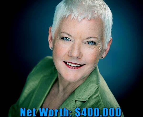 Image of Actress, Carol Jones net worth is $400,000