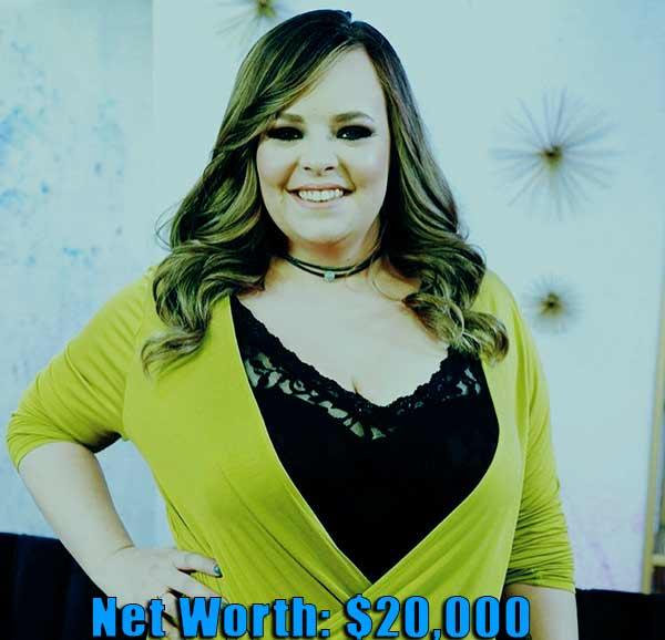 Image of TV Personality, Catelynn Baltierra net worth is $20,000