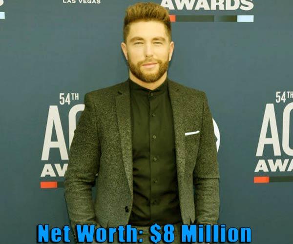 Image of Singer, Chris Lane net worth is $8 million