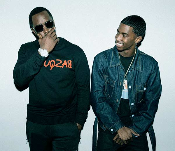 Image of Christian Casey Combs with his father Sean Combs