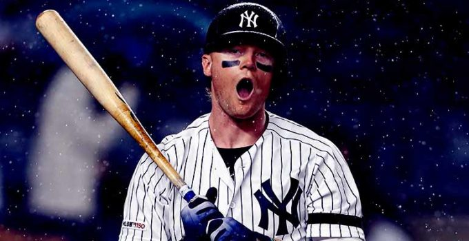 Image of Clint Frazier biography, salary, net worth, girlfriend, injury, stats