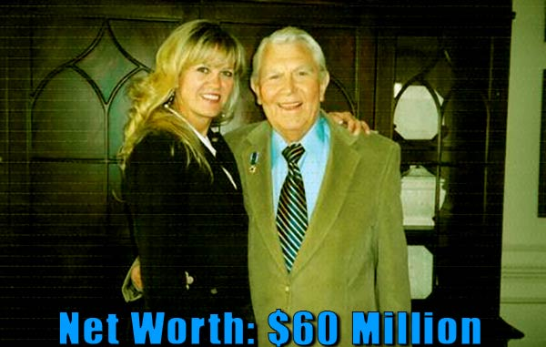 Image of Dixie Griffith father Andy Griffith net worth is $60 million