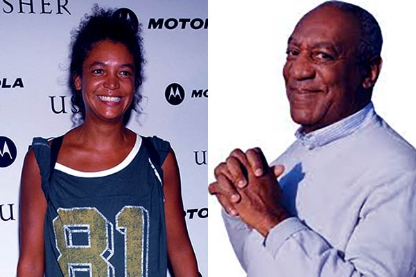 Image of Erinn Chalene Cosby with father Bill Cosby