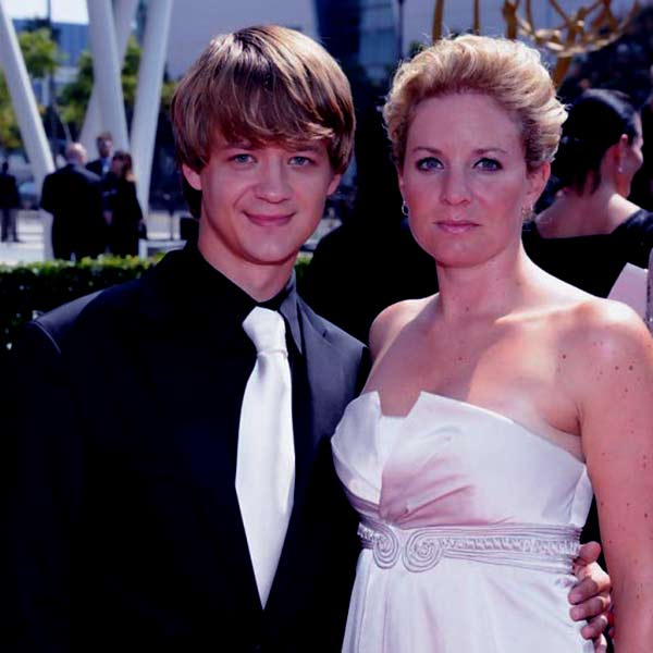 Image of Jennifer Earles with her ex-husband Jason Earles