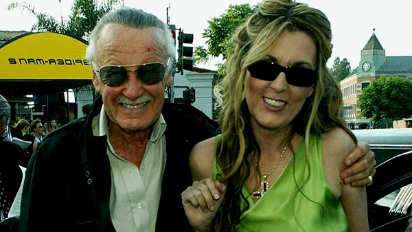 Image of Joan Celia Lee with her father Stan Lee