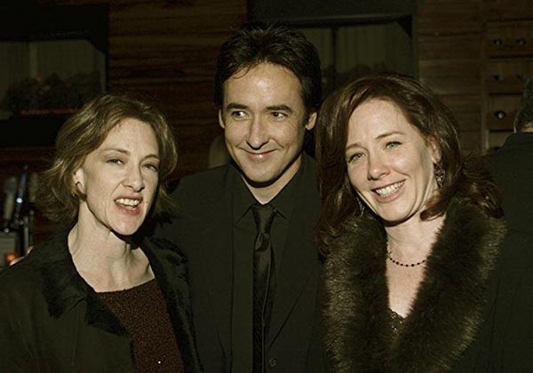 Image of John Cusack, with his sister Joan Cusack, and Ann Cusack