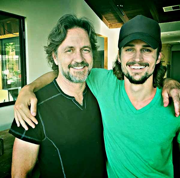Image of Jon-Michael Ecker with his father Guy Ecker
