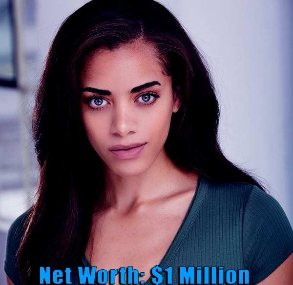 Image of TV actor, Kiara Barnes net worth is $1 million