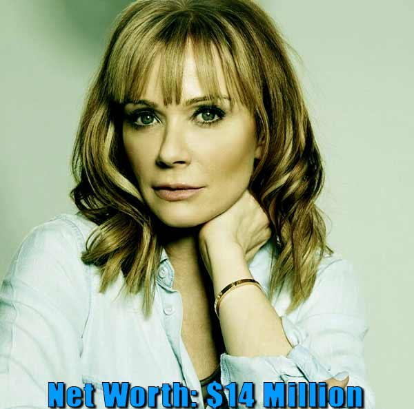 Image of American-Canadian actress, Lauren Holly net worth is $14 million