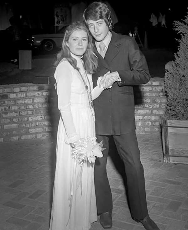 Image of Michael Tell with his ex-wife Patty Duke