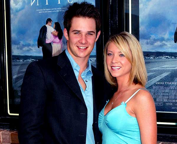 Image of Ryan Merriman with his ex-wife Micol Duncan
