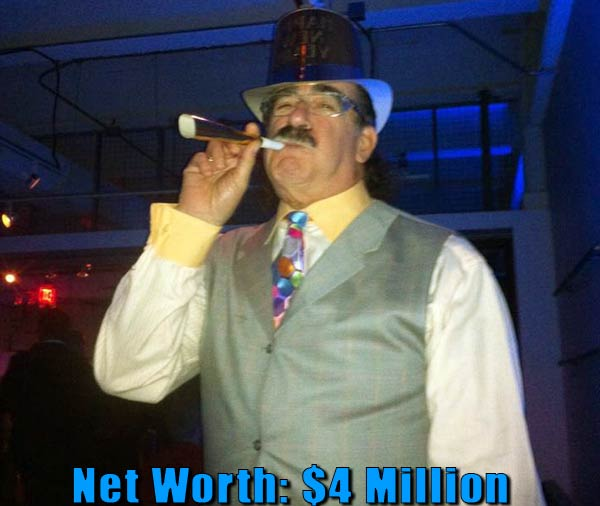 Image of TV actor, Moe Prigoff net worth is $4 million