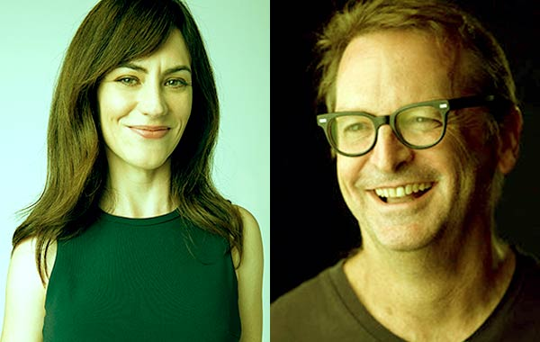 Image of Paul Ratliff and his wife Maggie Siff