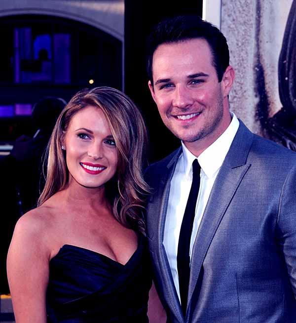 Image of Ryan Merriman currently married to Kristen McMullen
