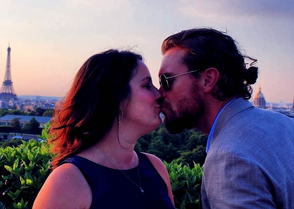 Image of Sunshine Kiki Brown with her husband Clayne Crawford