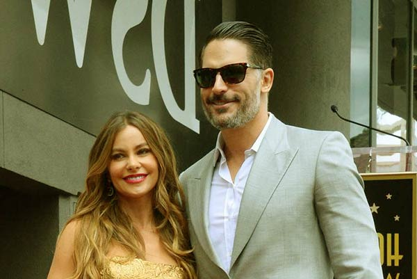 Image of Sofia Vergara with her ex-fiance Joe Manganiello,