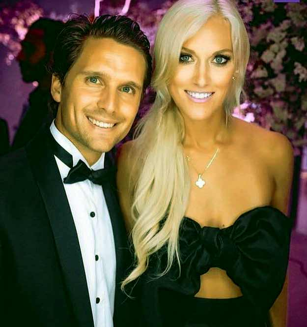 Image of Alex Hirschi with her husband Nik Hirschi