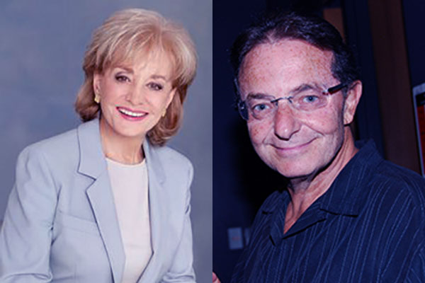 """""""Image of Barbara Walters and her husband"""""""