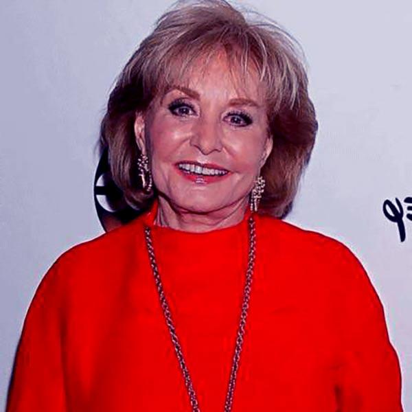 Image of TV Host, Barbara Walters sufferting from dementia