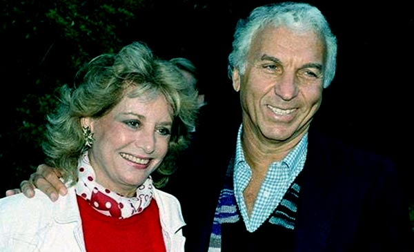 Image of Barbara Walters with her ex-husband Merv Alderson