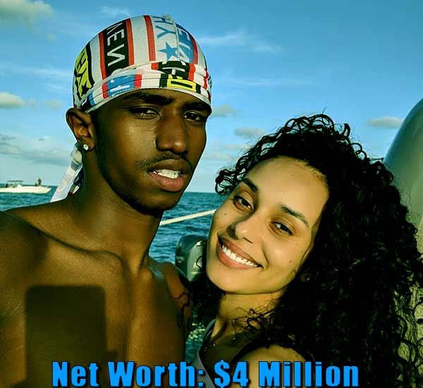 Image of Breah Hicks boyfriend Christian Combs net worth is $4 million