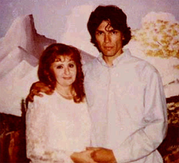 Image of Doreen Lioy with her ex-husband, Richard Ramirez the serialkiller