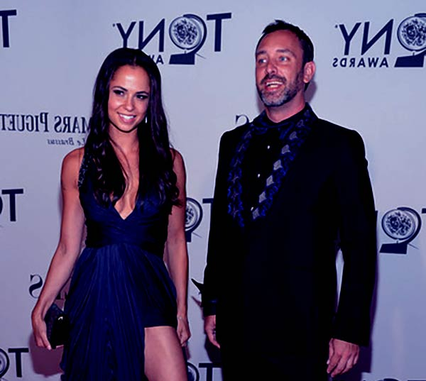Image of Emma Sugiyama with her ex-husband Trey Parker