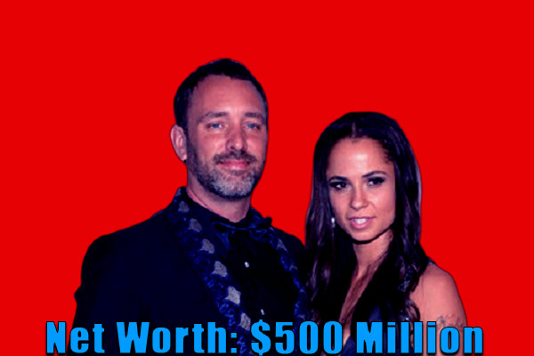 Image of Emma Sugiyama husband Trey Parker's net worth is $500 million