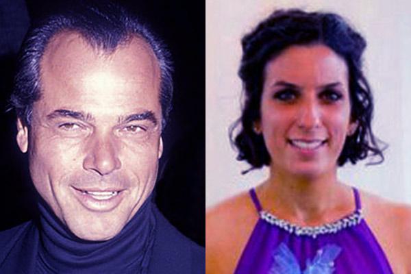 Image of Vanna White's ex-husband George Santo Pietro and wife Melissa Mascari